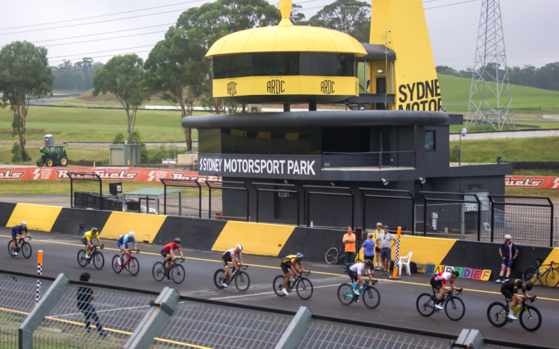 Cycling at Sydney Motorsport Park (SMSP)