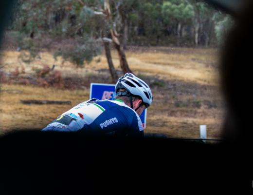 CCS Canberra rider during 2019 Blayney 2 Bathurst (B2B) at the Bathurst Cycling Classic