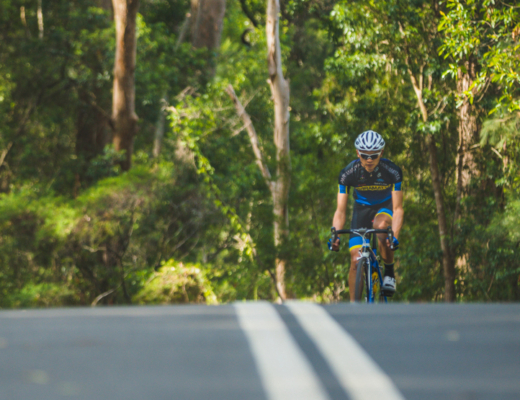 Where I ride when I don't feel like riding - Ryan Miu cycling in a forest