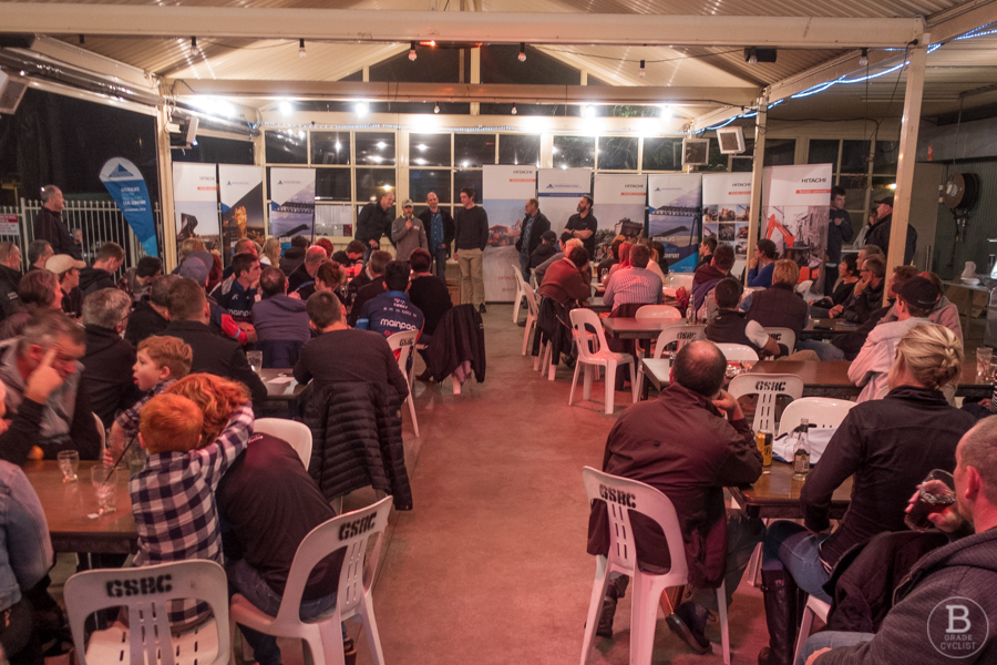 Presentation dinner at a country open handicap race