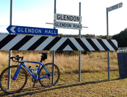 Singleton Team Time Trial course start at Glendon Hall
