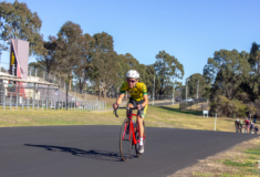 Bankstown Cycling Club rider at Louisa Reserve Criterium Track, Dunc Gray Velodrome, Bass Hill